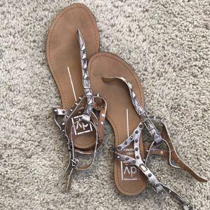 Dolce Vita studded sandals (silver)